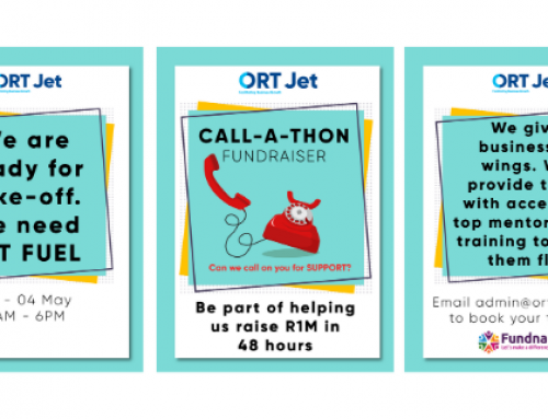 The community and donors have helped ORT Jet give businesses the tools to succeed